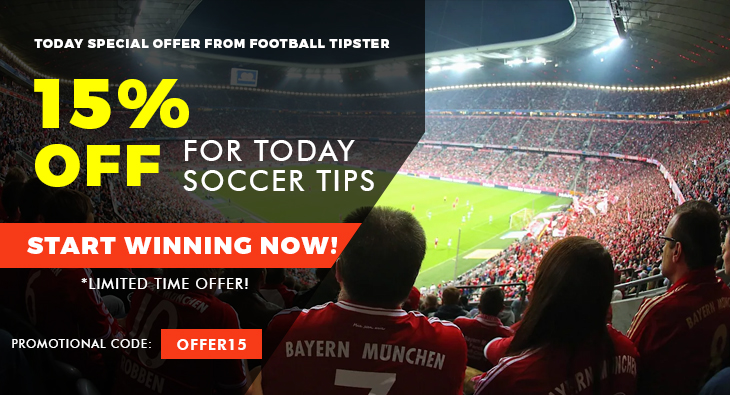 Today special offer from Football Tipster